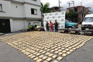 El cargamento esta avaluado en más de 3 mil millones de pesos.