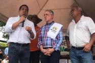 Uribe ratificó avales y respaldo político a candidatos en el Tolima
