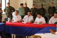 Sesión territorial de la Comisión Nacional de Garantias de Seguridad