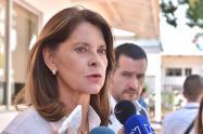 Vicepresidenta advirtió que el gobierno está decidido a acabar el narcotráfico y la corrupción