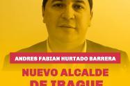 Nuevo alcalde de Ibagué Andres Hurtado