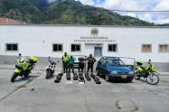 Capturan en Cajamarca a dos personas por llevar millonario cargamento de droga