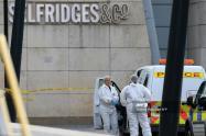 Ataque con cuchillo en centro comercial de Mánchester