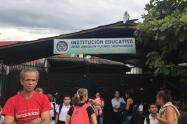 I.E José Joaquín Flórez de Picaleña en huelga