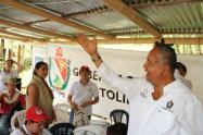 Hoy el gobernador Óscar Barreto visitará el municipio de Roncesvalles
