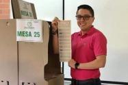 Para Hincapié con una votación de 6.330 fue escogido como uno de los 15 diputados del Tolima