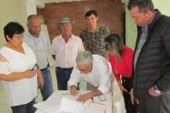 Leonidas López, participó de la exposición del Plan de Desarrollo para la comuna 8