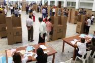 Los puestos de votación estarán ubicados 144 en cabeceras municipales, 253 serán instalados en áreas rurales