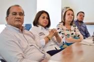 La candidata señalo que Barreto se dedicó sacar un senador, dos representantes y poner un candidato