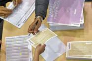 La puja, Guillermo Ignacio Alvira Acosta por La U con 3.658 votos y Carlos Enrique Murillo Lugo por el Partido Liberal con 3.519