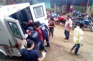 En el accidente resultaron lesionados dos adultos mayores