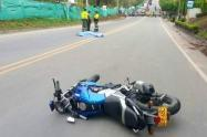 Accidente en Honda Tolima