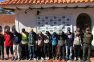 Hinchas del Tolima capturados