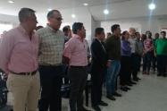 El proceso continúa con el cierre del escrutinio departamental y que el alcalde electo, Andrés Fabián Hurtado reciba su credencial