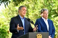 Presidente Duque y Carlos Holmes Trujillo