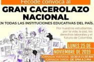 La Jornada se llevará a cabo en las instalaciones de las instituciones educativas de 10: 30 a 11:30 de la mañana y de 1 a 2 de la tarde