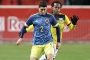 Stefan Medina, jugador de la Selección Colombia