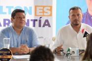 """""""Vamos a hablar con Cooperación Internacional sobre propuestas de agroindustria y acueducto"""", aseguró Tamayo"""
