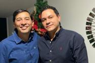Alcalde Andrés Hurtado y  Juan Felipe Arbeláez