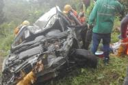 Accidente en la vía Ibagué – Calarcá