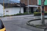 Fuga de agua en Ibagué