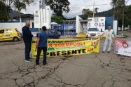 Protesta Ibal