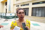 Tatiana Aguilar Secretaria de Educación de Ibagué