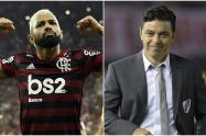 'Gabi gol' y Marcelo Gallardo, los nuevos 'Reyes de América'