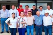 Los Diputados Carlos Reyes, Julio Morato y el Concejal Javier Mora, declararon oposición a nuevos gobernantes