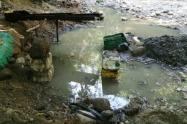"""En los operativos se pudo evidenciar modificación de la conformación original del cauce de la Quebrada """"Las Juanas"""""""