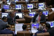Ministro Alberto Carrasquilla en debate Ley de Crecimiento Económico en la Cámara de Representantes.