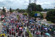 Movilizaciones en Ibagué