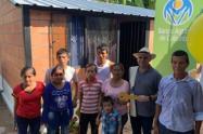 El presidente del Banco Agrario, el tolimense Francisco Mejía, lideró la entrega de 606 viviendas
