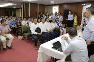 Gobernador y alcaldes electos del Tolima