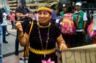 Marta Oyala Oyala, Representante del Resguardo Chiacalá Pijaos, de Orito Putumayo