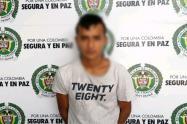 Capturado presunto asesino