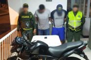 Delincuentes capturados