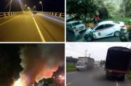 Accidentado año nuevo en Ibagué y el Tolima