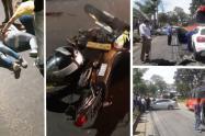Accidentes en Ibagué