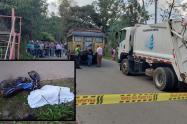 Menor de 15 años murió en accidente