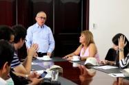 Arias es el segundo presidente de la actual Junta Directiva y quien estará al frente del cargo durante el presente año