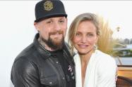 Cameron Diaz y su esposo
