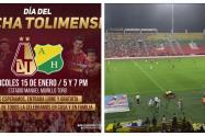 El partido Tolima vs Huila será gratis para la hinchada pijao