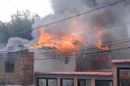 Incendio Ibagué