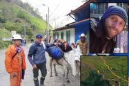 Encontraron al periodista que estaba perdido en el Nevado
