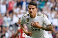 James convocado para enfrentar al Zaragoza por la Copa del Rey