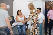 Olga Lucía Alfonso Lannini, visitó cada una de las dependencias de la entidad ambiental