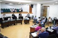 Milton Restrepo Ruiz, hizo un fuerte llamado al recién elegido secretario general de la Asamblea, Luis Enrique Suárez
