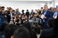Presidente Iván Duque en la Mesa Nacional de Conversación con Jóvenes colombianos