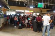 Terminal de transportes de Ibagué.